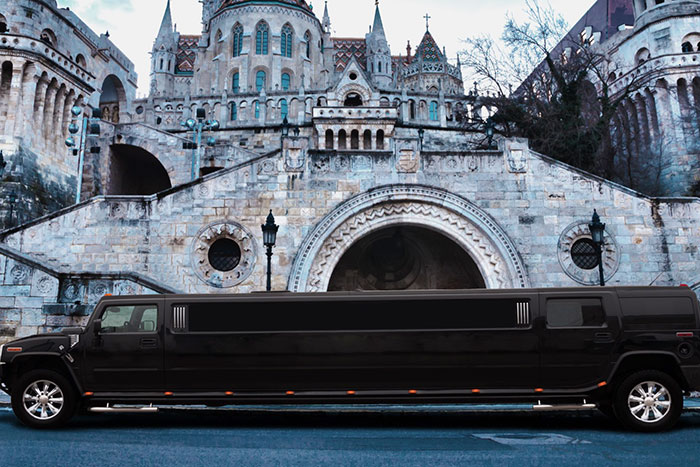 Party limo rental Budapest, Hummer limousine